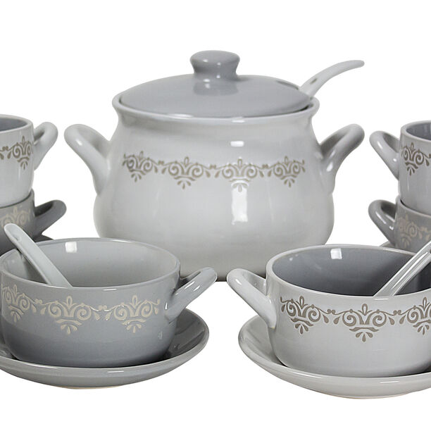 21 Pcs Soup Tureen image number 1