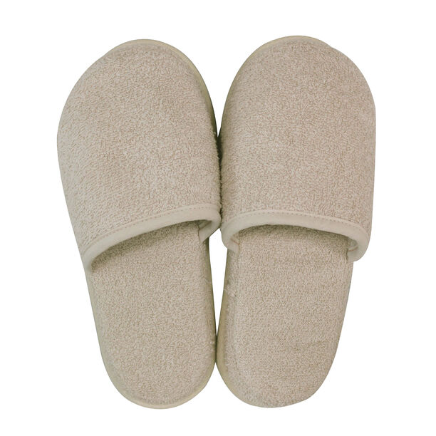 Bath Slippers Stone S/M image number 1