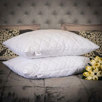 DiamondQuiltedCover Pillow image number 0