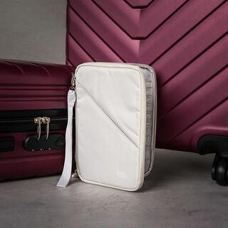 Travel Vision Passport Bag Beige