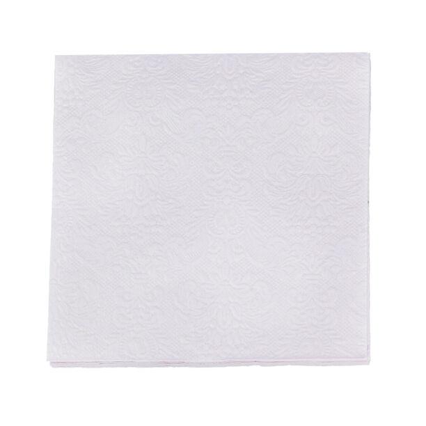 مناديل ورقية مربعة الشكل بنفسجي من الجانس  image number 1