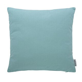 Cottage Solid Cushion Palin Ice Blue 45X45 Cm