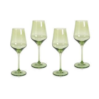 Rio Green 4 Pieces Set Stem Juice Glass