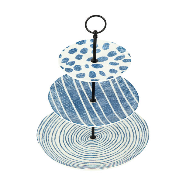 3 Tiers Cake Stand Navy Carnival image number 1