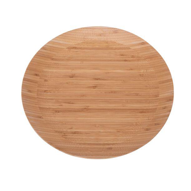 لوح تقديم  دائري خشبي 40 سم من البرتو image number 0