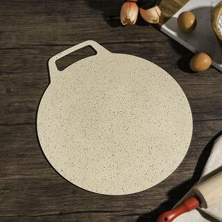Alberto Non Stick Forged Aluminum Crepe Pan Cream Color