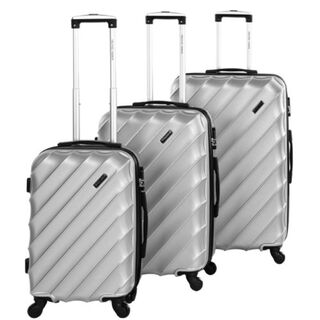Travel Vision Set Of 3 20/24/28 Silver