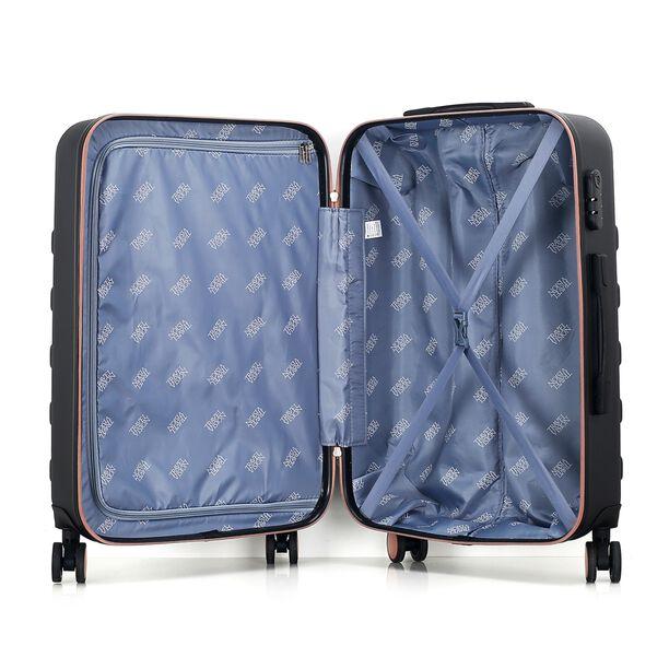 Travel Vision Set Of 4 Butterfly+Vanity Bag Black  image number 5