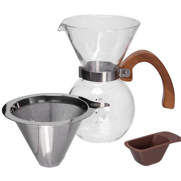 إبريق الشاي والقهوة بالضغط مع المنقط image number 2