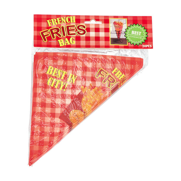 20 Pieces Paper Fries Bag image number 2