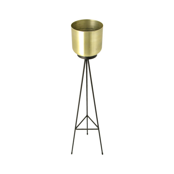 Metal Planter Gold  image number 1
