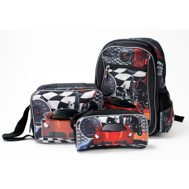 "14"" Backpack + Lunch Bag + Pencil Bag image number 0"