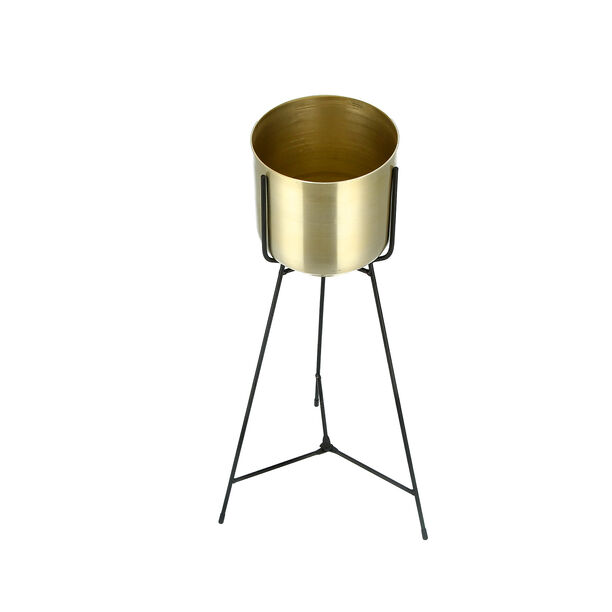Metal Planter With Stand image number 2
