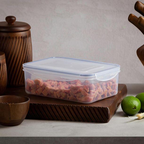 حافظة طعام بلاستيك مستطيل سعة 2.5 لتر من البرتو image number 3