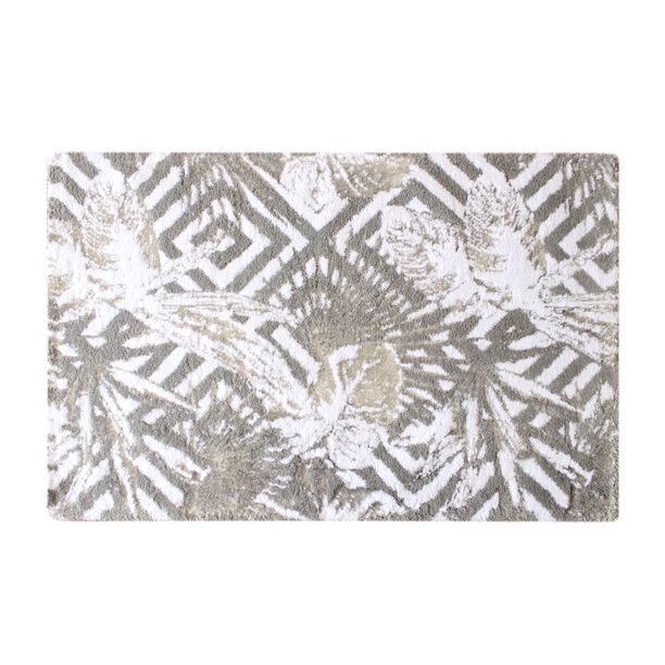 Cottage Cotton Bath Mat Tropic Gray 70X120 Cm image number 0