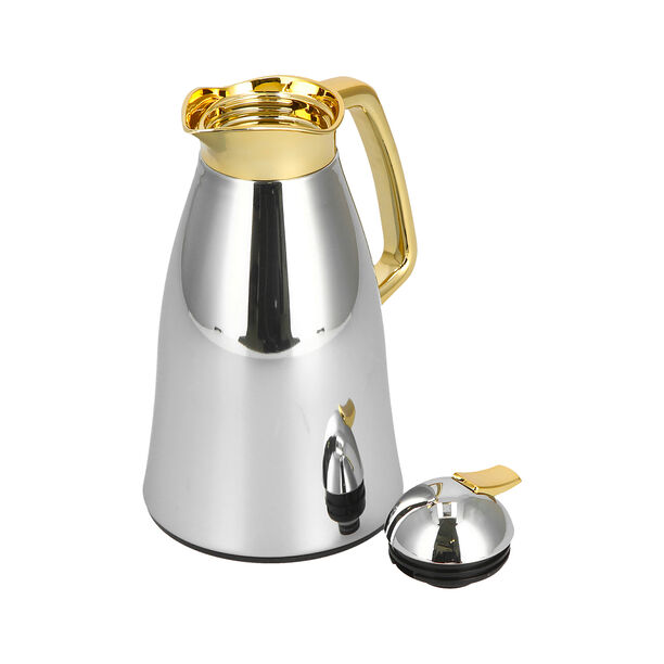Vacuum Flask Gold Chrome 1L image number 2
