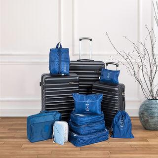 Travel Vision Passport Bag Light Blue