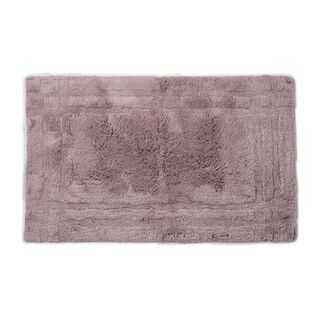 Cottage Cotton Bathmat Frame Purple