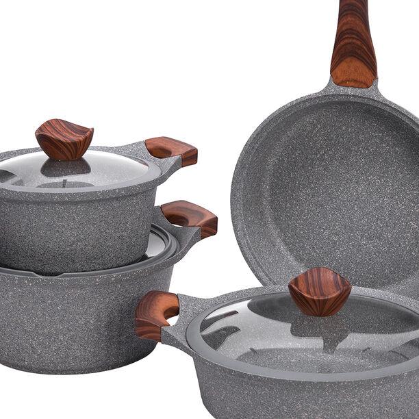 Alberto Yeni Granit 7Pcs Cookware Granistone image number 2