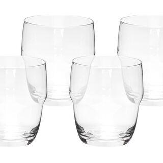 4 Pcs Set Dof Clear Glass