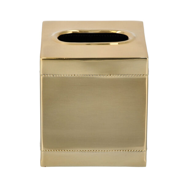 Crackle Bath Tissue Box Gold image number 1
