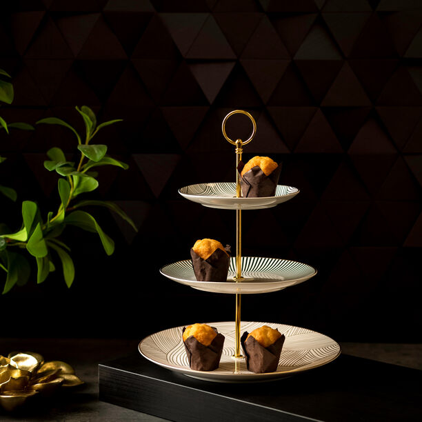 3 TIERS SERVING STAND image number 0