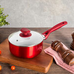 Non Stick Sauce Pan with Glass image number 0