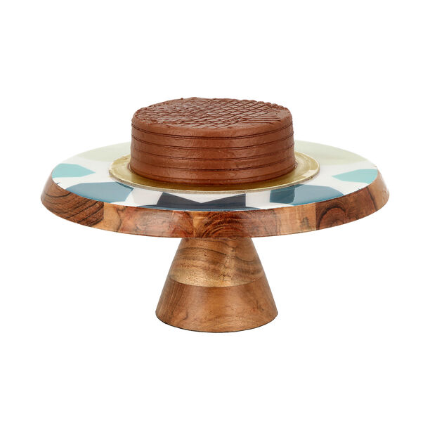 Arabesque Cake Stand With Cake Lifter image number 2