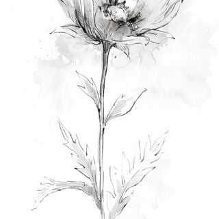 Printing On Parchment Paper Flower