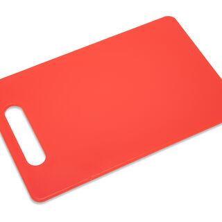 لوح تقطيع بلاستيك أحمر
