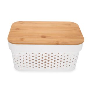 Infinty Basket With Bamboo Lid