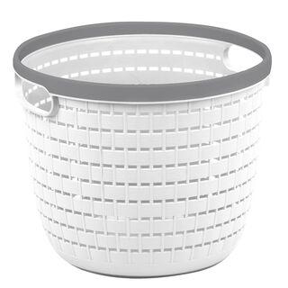 Rattan Round Storage Basket 7L