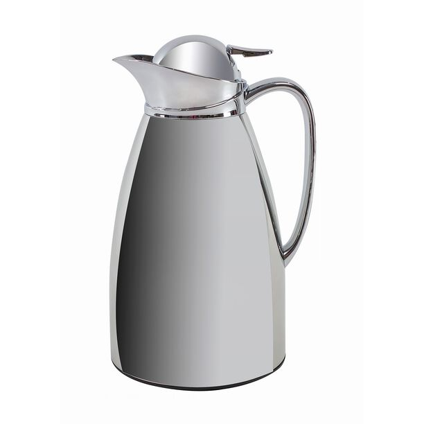 Dallaty Stainless Steel Vacuum Flask Peak Chrome 1L image number 0