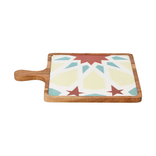 Arabesque Square Serving Tray image number 2