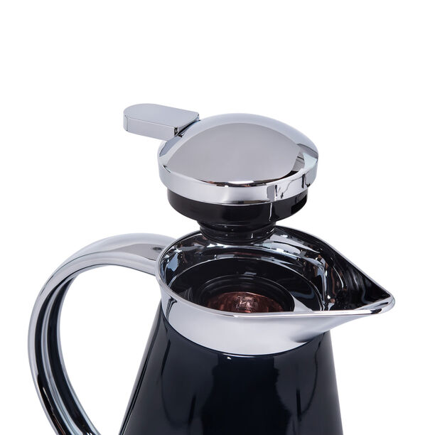 Dallety Steel Vacuum Flask Sahara Metallic Black 1L image number 2