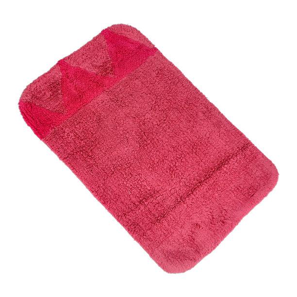 Bath Mat 50X80Cm Cotton Pink  image number 0