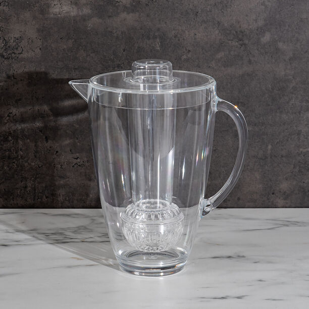 Alberto Acrylic Pitcher With Ice Tube V: 2.5 L image number 5