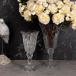Glass Vase Clear image number 2