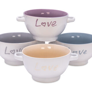 4 Pcs Soup Bowl