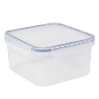 Alberto Plastic Food Saver  Square Shape V-0.7L Blue Lid