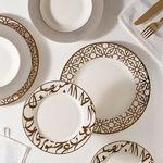 18 Pcs Porcelain DinnerSet Kan Ya Makan image number 3