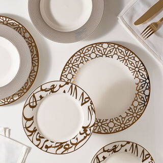 18 Pcs Porcelain DinnerSet Kan Ya Makan