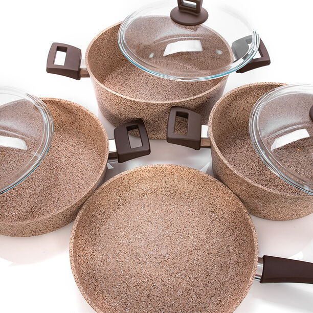 Alberto Granite Cookware Set Of 7 Pieces image number 2
