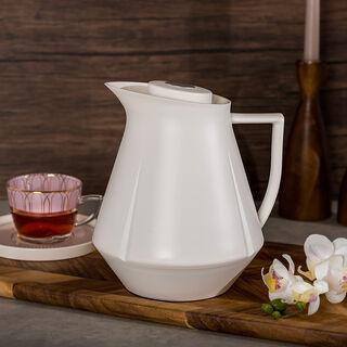 Plastic Vacuum Flask Vas 1L white