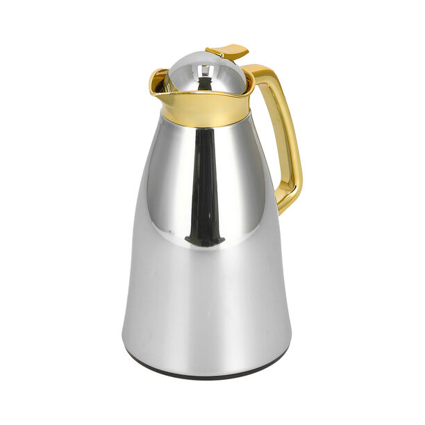 Vacuum Flask Gold Chrome 1L image number 1