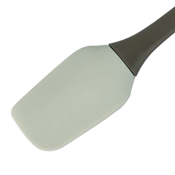 Alberto Silicone Spatula With Soft Hand Brown Blue image number 2