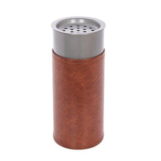 Steel & Leather Oud Burner