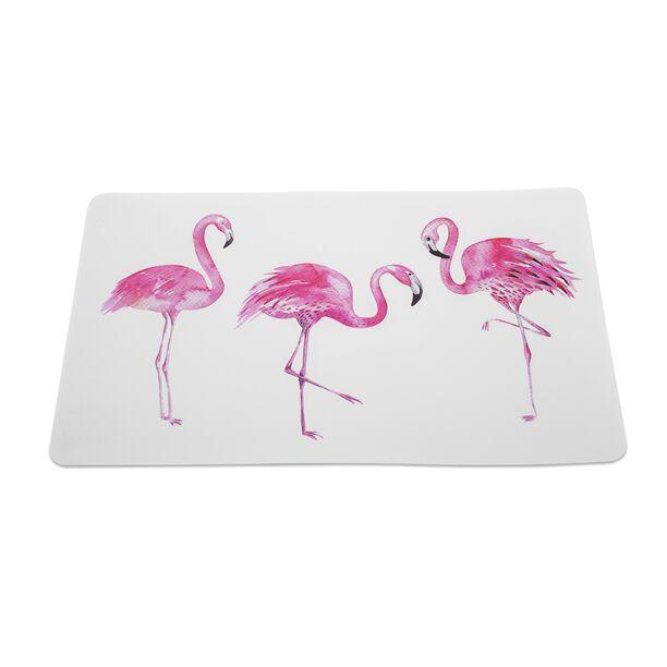 Alberto Flamingo Placemat Set 6 Pieces  image number 1
