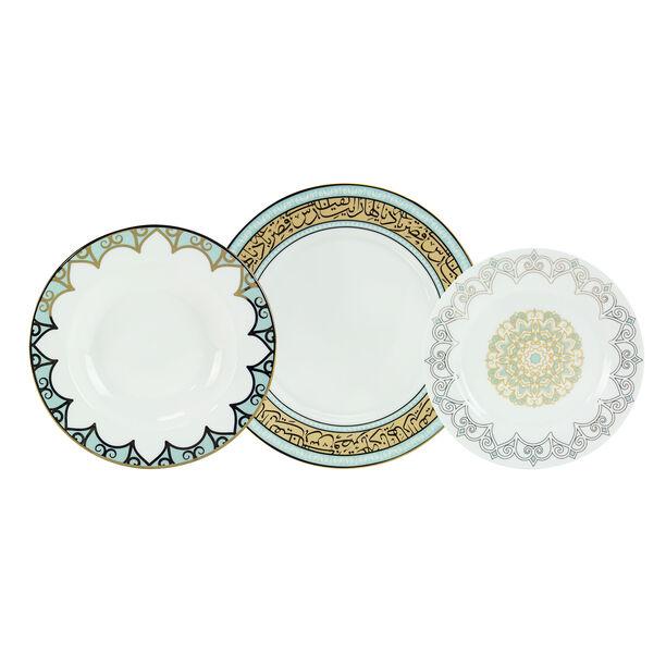 18 Pcs Porcelain DinnerSet image number 0
