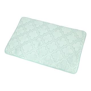 Cottage Bath Mat Ice Blue 60X90 Cm